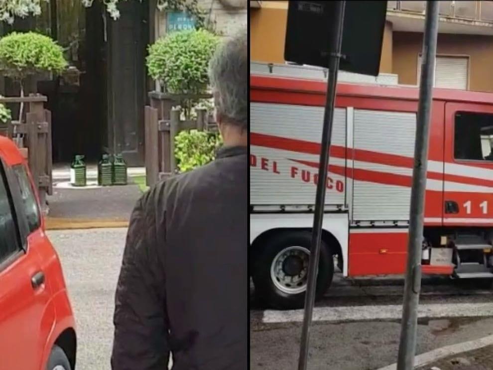 Frosinone, Chef Panzini minaccia di darsi fuoco davanti al suo ristorante: «Nessun aiuto dallo Stato, non ho soldi fino a giugno»