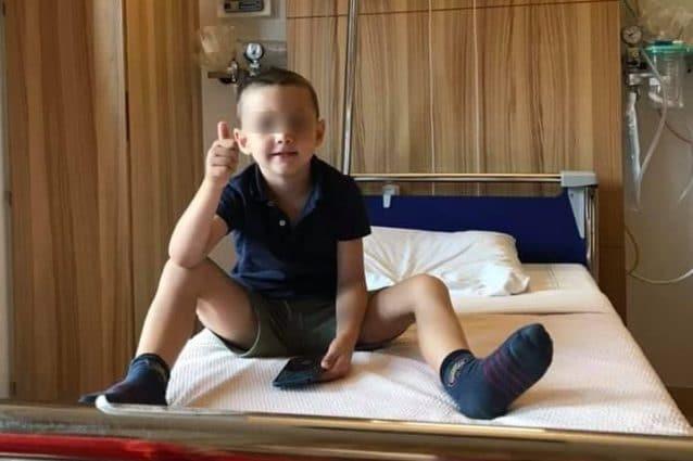Operazione riuscita per il piccolo Rico, il bimbo di Mugnano affetto da una rara malattia