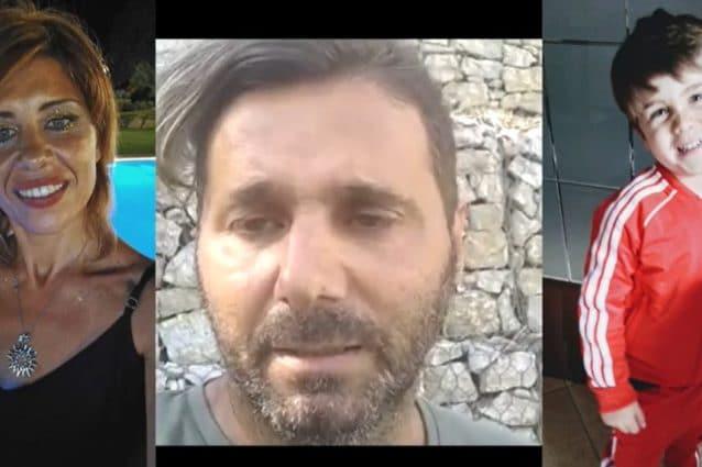 """Messina, l'appello di Daniele alla moglie e al figlio scomparsi: """"Tornate a casa, vi aspettiamo"""""""