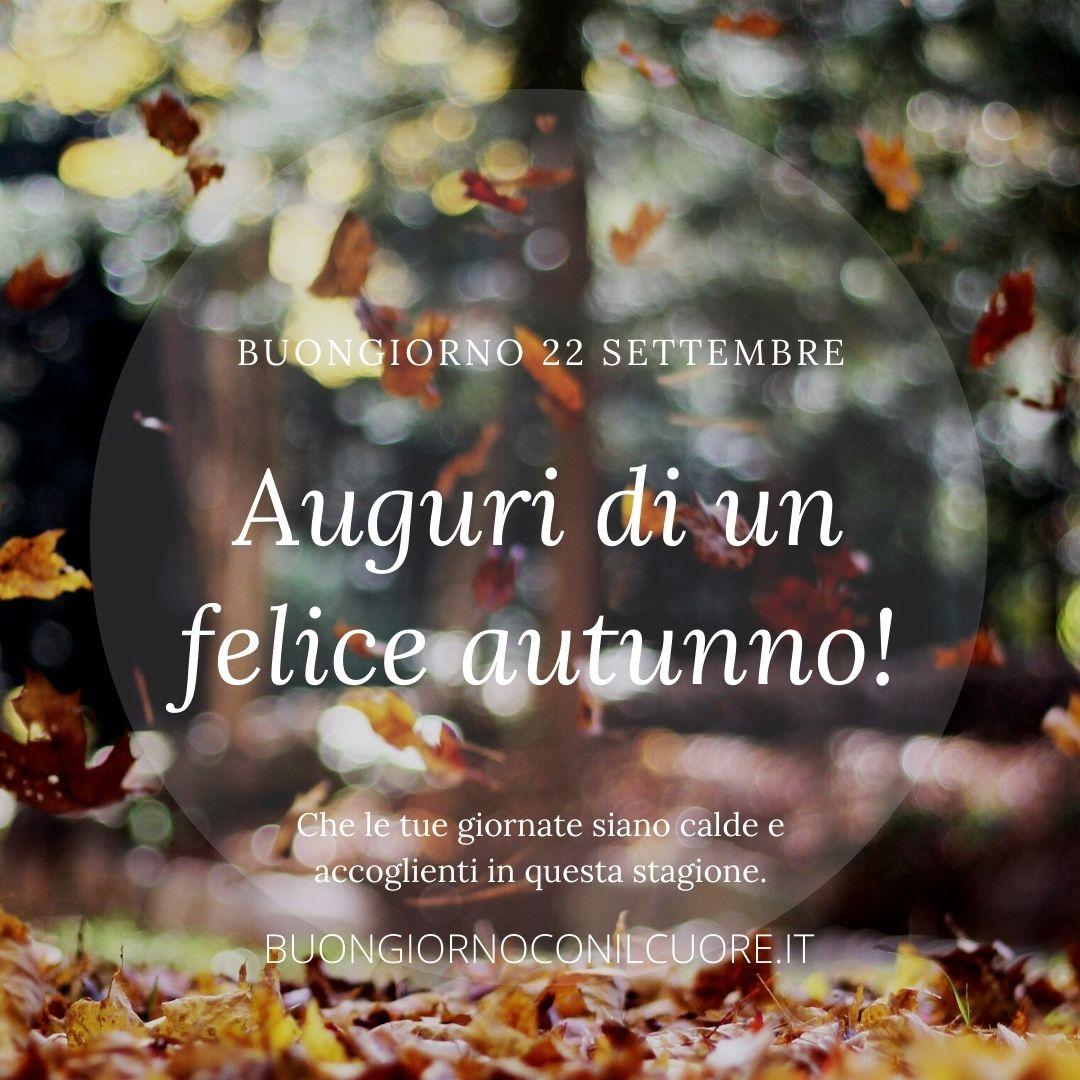 benvenuto autunno arrivederci estate immagini frasi nuove